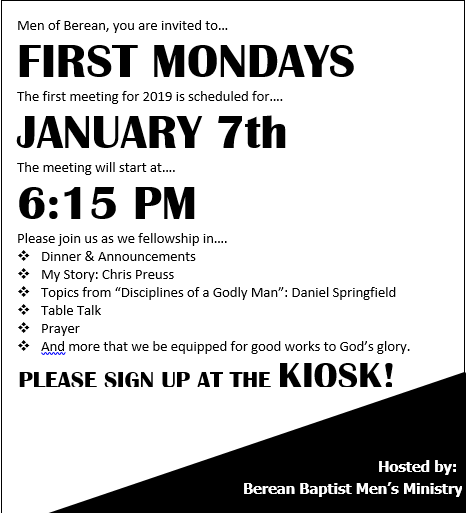 FirstMondaysFlyer