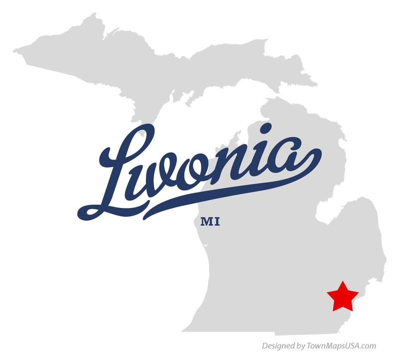 map_of_livonia_mi