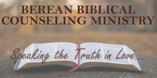 Berean counseling poster