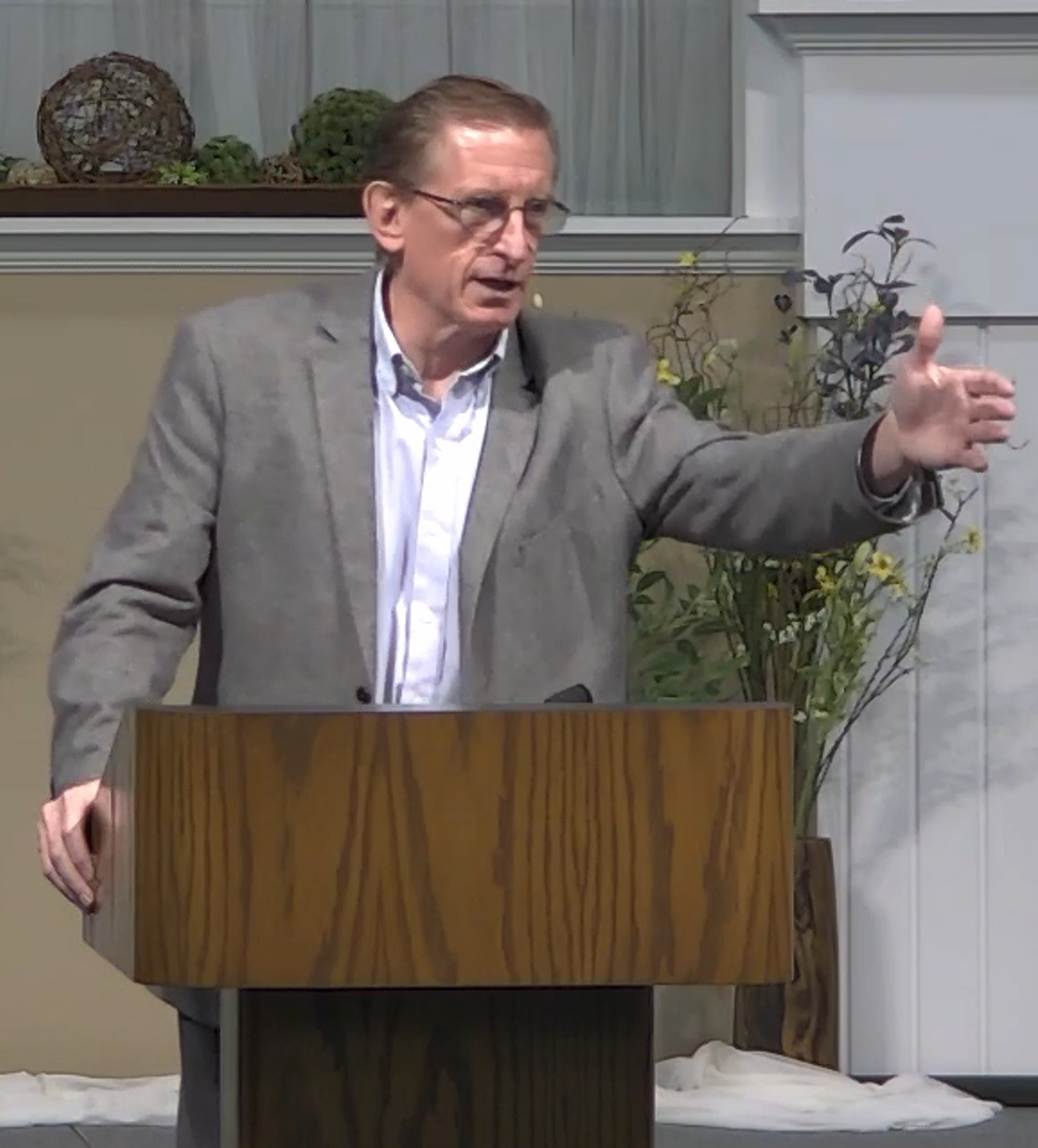 Terry Preaching Image
